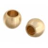 Metal Bead Round 3mm Brass